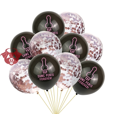 Fun Balloons - Gay Bachelor Night Out (Set of 5+5)