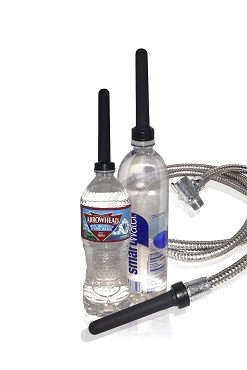 Boneyard Skwert Universal Water Bottle Douche Kit,  Enema & Travel douche kit